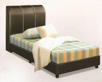 Harga Nico PU Leather Divan Single Bed 3feet