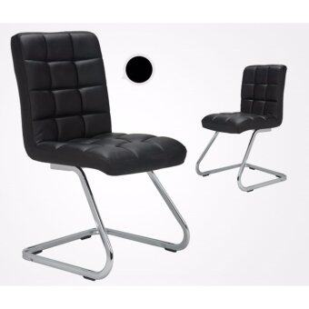 Harga Twin Package - Full Leather Designed Stylish Dining Chair - Full Assembly