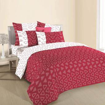 Harga Ann Taylor Creation Fitted Set-King-420 Thread Count-Ashtin Red