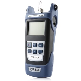 Harga High Precision Network Power Meter Multi-fiber Optical Power Meter with LCD Display (Blue)