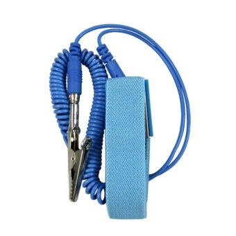 Harga Moonar Wired Clip Antistatic Anti Static ESD Wristband Wrist Strap Discharge Cables for Electrician IC PLCC worker