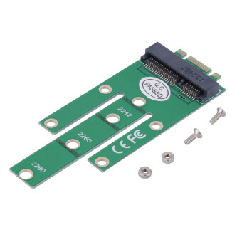 Harga OH NGFF M2 B SATA-Based Solid State Drives to MSATA Adapter Converter Card Green
