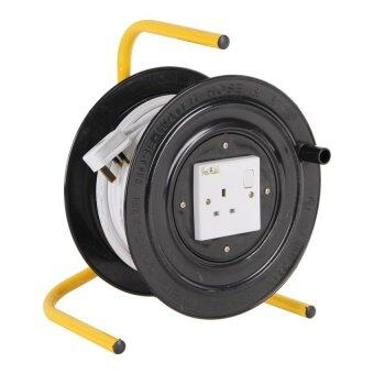 Harga NESLY RP-1050-50M 1 GANG BIG SIZE 50 METERS EXTENSION CORD REEL