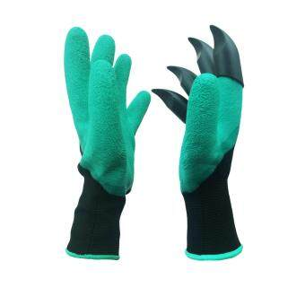 Harga Garden Genie Gloves With Built in Claws Quick and Easy to Dig,Rake and Plant (Right Hand Claw 1 Pair)