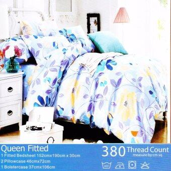Harga MRS DIY BED SHEET - QUEEN FITTED (M24)