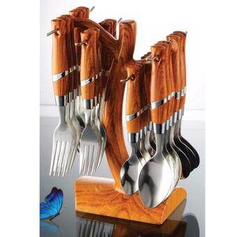 Harga 24pcs Cutlery Set With Stand