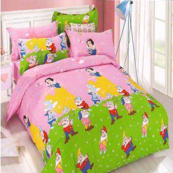 Harga Matahari SINGLE SPECIAL Fitted Bedsheet Set 100% Cotton - SNOW WHITE - 4 PCS -(HOMEMADE)