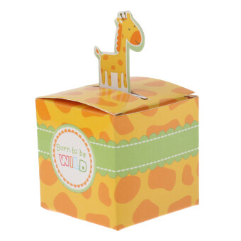 Harga 50pcs Giraffe Animals Candy Boxes Birthday Party Baby Shower Favor Gifts
