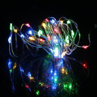 Harga GOOD 4m Waterproof 40 Led String Light Christmas Party Decorative Outdoor Lamp IP66