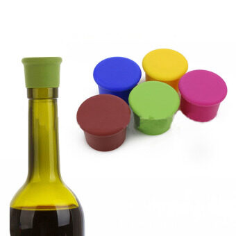 Harga Yellow Silica Gel Wine Bottle Cap Stopper