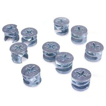 Harga 10pcs 15mm Eccentric Wheel Thickening Furniture Hardware Connector