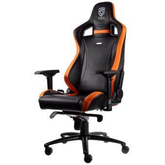 Harga noblechairs EPIC Leather Penta Sports Edition Orange Luxurious Gaming Chair
