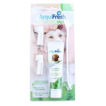Harga Arquizoo Professional Pet Toothpaste Toothbrush Dental Set