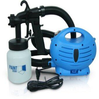 Harga As Seen on TV Paint Spray Gun with Compressor (Blue)