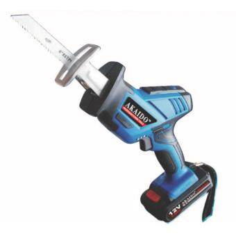 Harga AKAIDO AK110 12V-LI Professional Cordless Reciprocating Saw (free 2pc battery & 1pc charger)