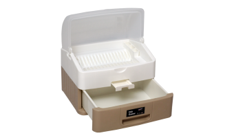 Harga Century Dish Drainer with 1 Level Drawer (Beige)