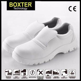Harga High quality white ESD safety shoes antistatic shoes in cleanroom-(SIZE:UK8/EUR42)