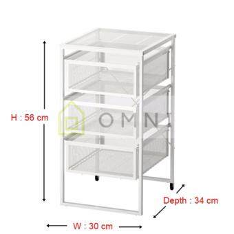Harga IKEA Lennart - Drawer Unit