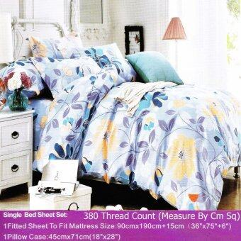Harga MRS DIY BEDSHEET - SINGLE FITTED (M10)