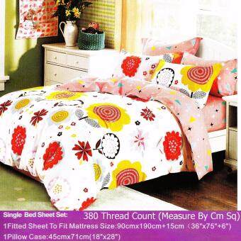 Harga MRS DIY BED SHEET - SINGLE FITTED (M6)