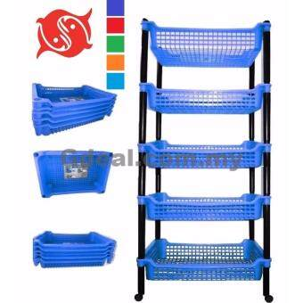 Harga Twins Dolphin 5-Stage (L) Rack With Roller (Random Colour)