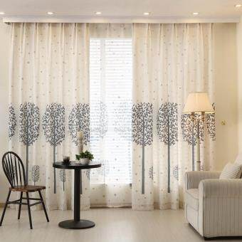 Harga 1 Piece Set - Premuim Elegant Modern Curtain - 2.0m x 2.7m- French Pleat - Free Curtain Tie & Hooks