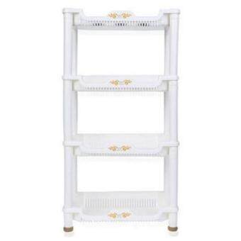 Harga 4 Layer Kitchen Living Room Home Storage Rack
