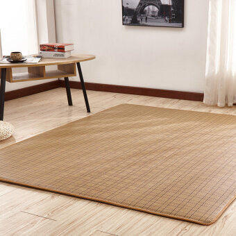 Japanese Summer Natural Rattan Mat Carpet Living Room Bedroomchildrens  Ground Floor Crawling Blanket Windows And Tatami Part 59