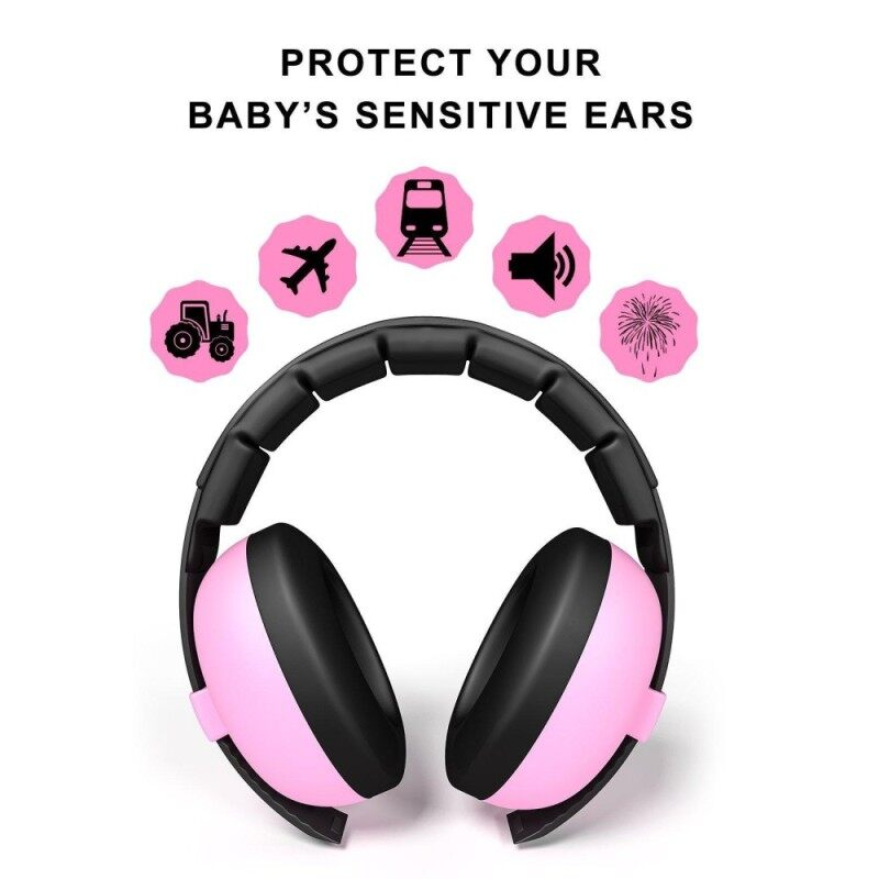 JDM Baby Noise Cancelling HeadPhones, Baby Earmuffs, Baby Headphones, Baby Ear Protection, Baby headphones noise reduction