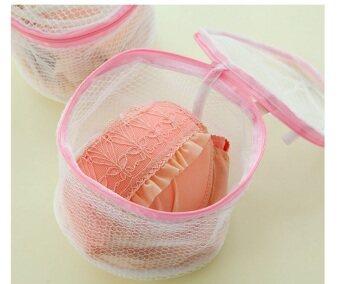 Jiayiqi Hosiery Bra Washing Lingerie Wash Protecting Mesh BagBasket - 3