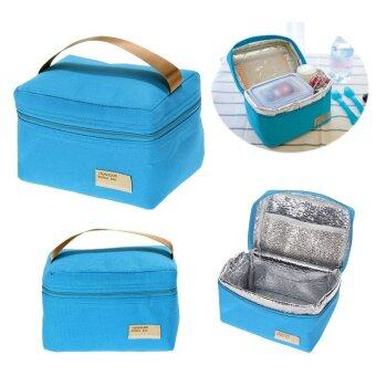 Kids Lunch Box Portable Insulated Canvas Lunch Bag Bento Lunch BoxLunch Bags and Cooler Bags Thermal Food Bento Bags Thermos