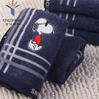 Harga King shore Snoopy cotton men's towel/towel