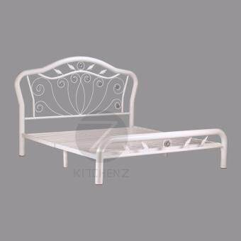 King Size Metal Bed Frame_3V-HL960FSB (White)