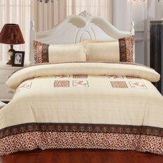 la feni high quality fashion 4pcs sets queen bedding set comforter cover with zipper