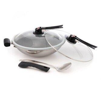ladyship stainless steel airtight non stick wok