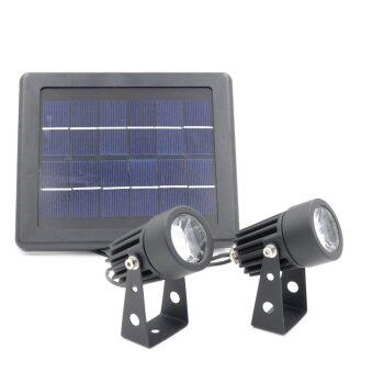 Harga LED 3W Spotlight Solar Powered