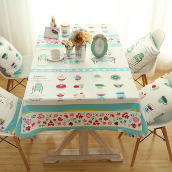 Linen Tablecloth Korean Childrens Table Desk Cloth Cover Clothsmall Fresh  Garden Tablecloth Coffee Table Cloth