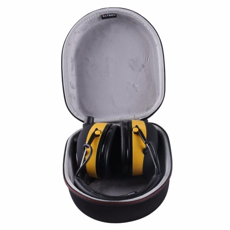 Buy LTGEM EVA Hard Case for 3M WorkTunes Hearing Protector, MP3 Compatible with AM/FM Tuner (90541-4DC)-Black Malaysia