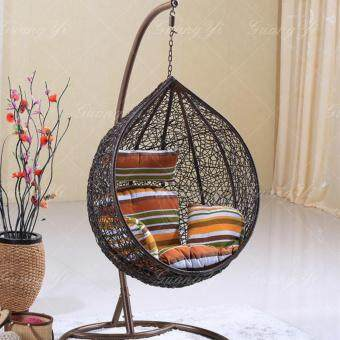 LUXURIE Round Hammock Swing Hanging Chair - 2