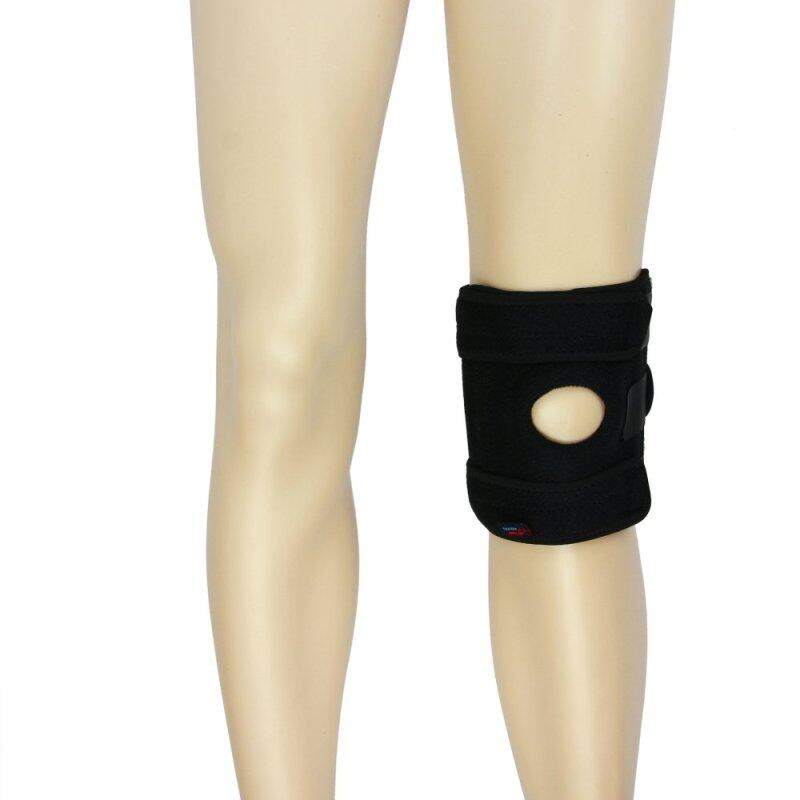 Buy Medical Grade Open Patella Knee Support Knee Stabilizer Sports Adjustable Compression Straps Joint Pain Supports 1PC Black Malaysia