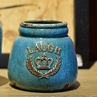Mediterranean ceramic storage jar vase home accessories Ornaments