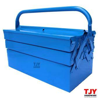 Harga Metal Cantilever 3 Tiers 5 Trays Home Mechanic Steel Tool Box ToolStorage CTB03