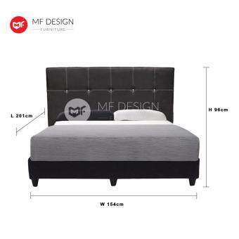 Sell mf design diva queen size divan bed frame 15cm head for Divan bed frame size