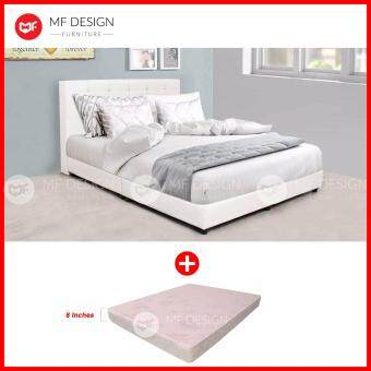 Sell mf design white grorious divan bed frame with high for Divan bed frame size