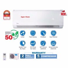 Midea MSMB-09CRDN1 1.0hp Inverter with Ionizer Air Conditioner - 5 star Energy Saving