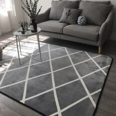 Modern Geometric Living Room Coffee Table Full Shop Big Black And White Gray Mats