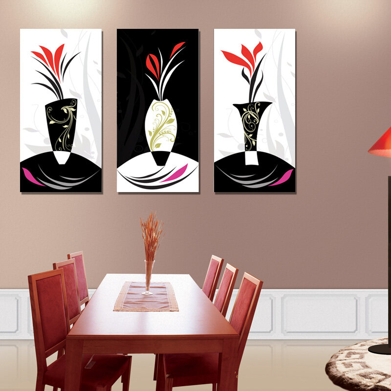 Harga Termurah Modern Minimalist Restaurant Wall Paintings Abstract