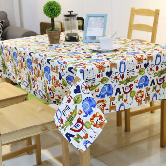 Modern simple student small tablecloth dining table cloth