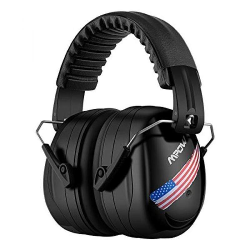 Buy Mpow Noise Reduction Safety Ear muffs, SNR 34dB Shooting Hunting Ear Muffs, Professional Hearing Protection with a Carrying Bag, Adjustable Folding Ear Defenders Fits Adults to Kids for Shooting Range Malaysia