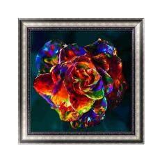 Multi-Color Flower DIY 5D Diamond Embroidery Painting Rhinestone Cross Stitch Decor